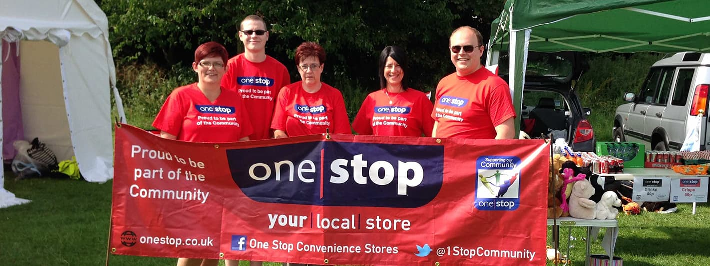 One Stop in your local community - How we're helping - Get Involved